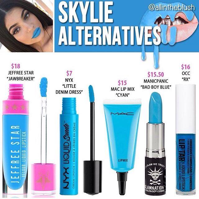 Kylie Jenner lip kit dupe Skylie