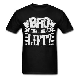 Mens Workout Shirts - Bro Do You Even Lift? Fitness motivational quotes for…