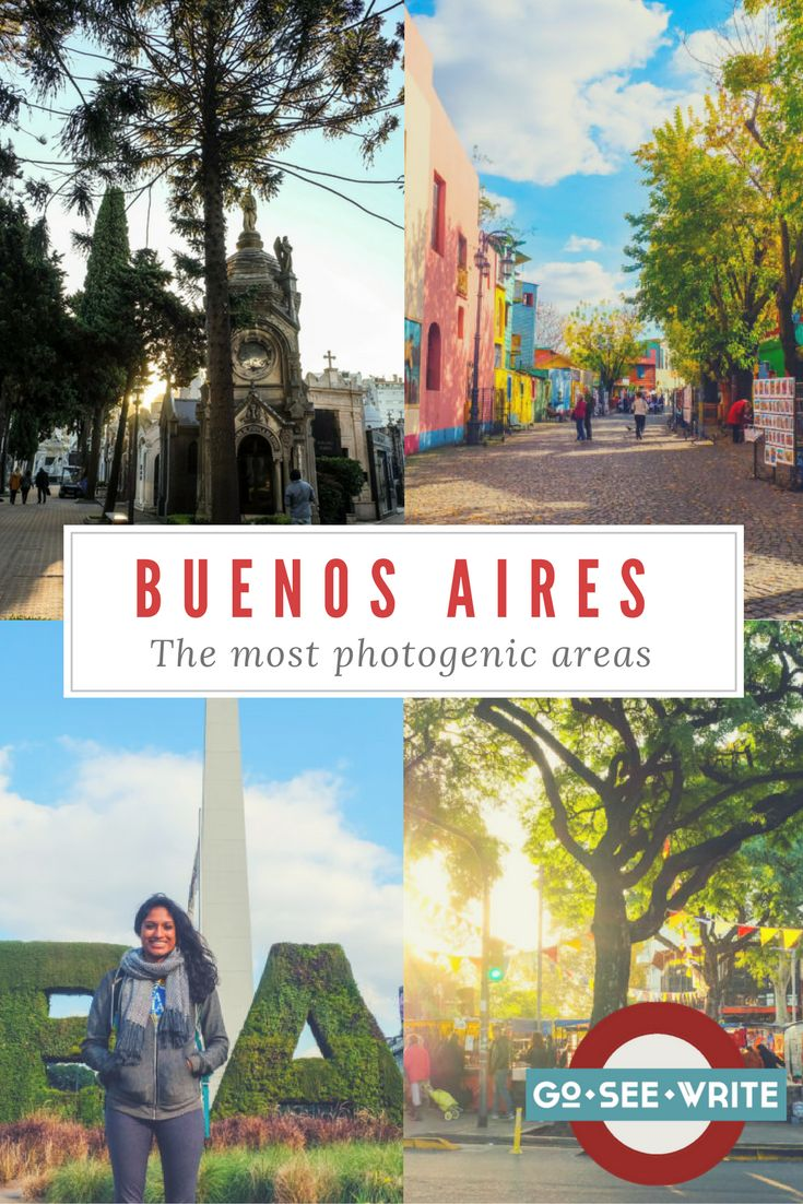 Want to get some good photos when you travel to Buenos Aires, Argentina? Visit Palermo Soho, La Boca, and these other photogenic spots.