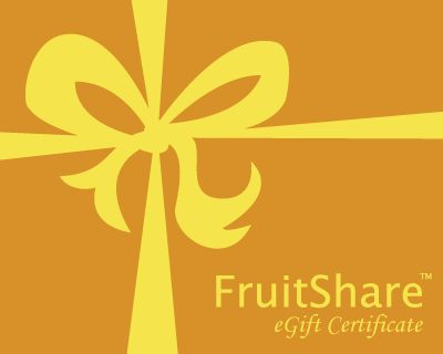 Fresh Fruit Gift Certificate - Organic Fruit Delivery from FruitShare.com