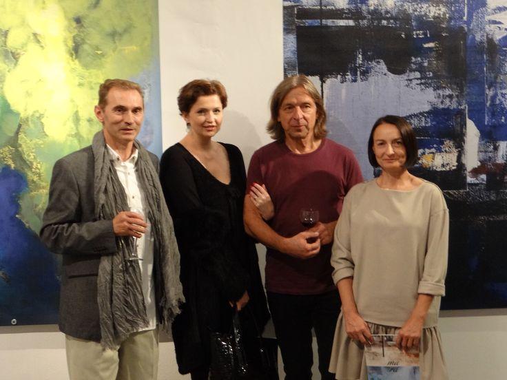 MARA wernisaż wystawy Jacka Maślankiewicza i Krzysztofa Rapsy w Galerii DAP