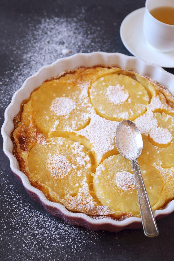 Recette clafoutis ananas & noix de coco. Un dessert gourmand au doux parfum d'été. Laissez-vous tenter par cette recette rapide et facile à faire, qui se déguste aussi bien frais que tiède. #cooking #foodie #recipes #recettefacile #yummy #gourmandise #ananas #coco #clafoutis #exotic #exotique #sun #summer #delicious #today #june #traiteur #lyon #rhone #enjoy http://bit.ly/2s1TL2m