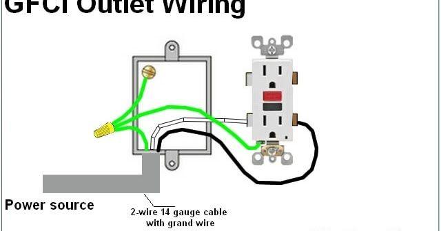 gfci wiring diagram home wiring diagrams