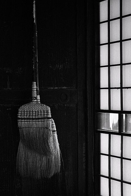 Japanese broom 箒