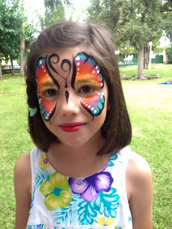 en las #animacionesinfantiles no pueden faltar los #maquillajesfantasia ....los niños se quedan encantados.