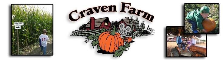 Pumpkin Patch, Weddings & Fun @ Craven Farm, Inc.