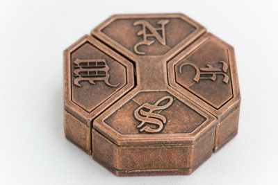 metal puzzle box | Hanayama - Metal Puzzles | Solve It! Think Out of the Box