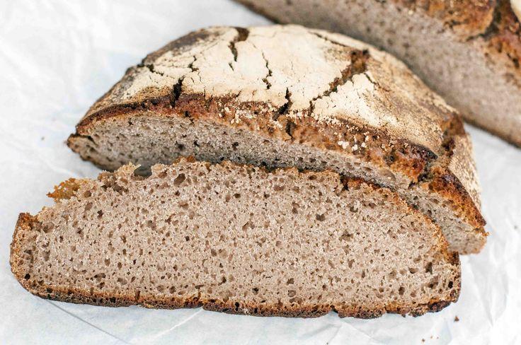 Marocca di Casola, view of chestnut bread crumb