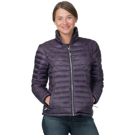 If you love winter but aren't crazy about the cold, the Basin and Range Women's Wasatch 800 Down Jacket is your new best friend. Designed for everything from taking your little one out in the snow for the first time to staying warm on a cold and clear ski day, this lightweight jacket does it all. Crafted from recycled polyester, the fabric is treated with a durable water-resistant finish to help keep you dry when the snow begins to flurry. Lofty down insulation traps body heat to help keep…
