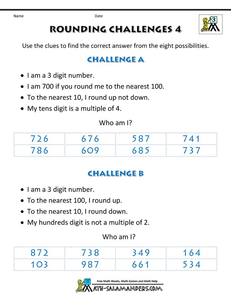 39 best Rounding Worksheets images on Pinterest Decimal number - order of operations worksheet