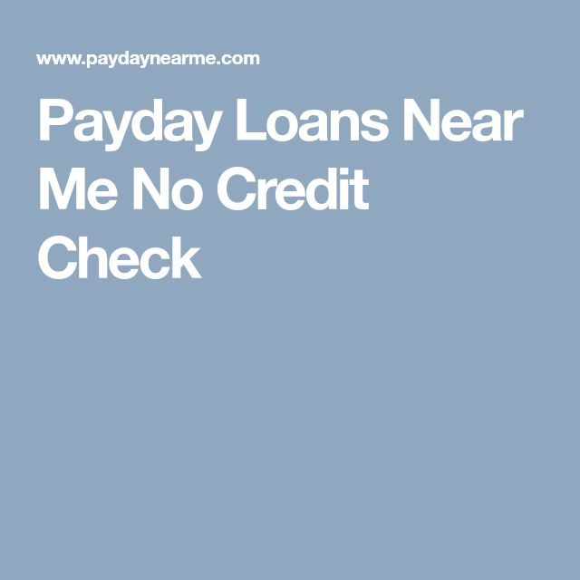 Permalink to No Credit Check Loans Near Me