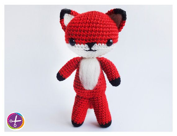 Fox Amigurumi  Needle Felting