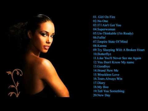 Alicia Keys Best Songs || Alicia Keys Greatest Hits - YouTube