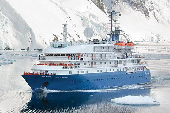 Sea Spirit ship by Poséidon - luxury cruise in Antarctica