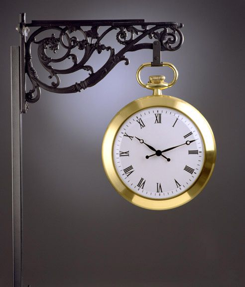 another pretty outdoor clock