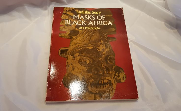 Masks Of Black Africa, Ladislas Segy, African History Book, Black History Book, 264 Photographs, African Culture, African History, Carvings by Donellensvintage on Etsy