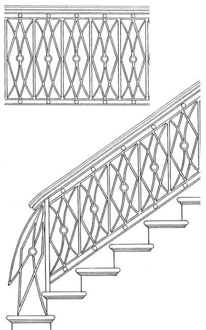 Stair Railing Designs ISR027