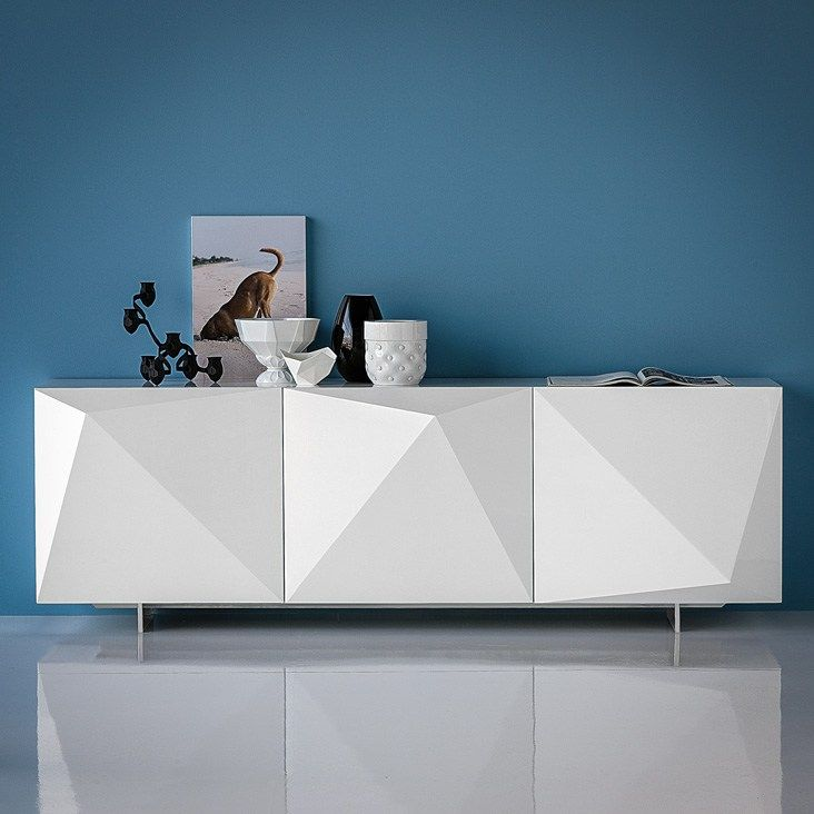 Lacquered sideboard with doors KAYAK by Cattelan Italia