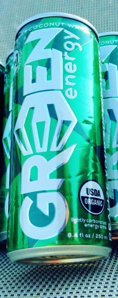 Gr3en Organic Energy Drink Review #organic #kale #coconut