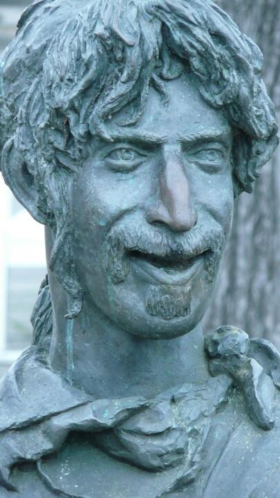 Frank Zappa Denkmal, Bad Doberan