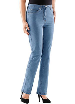 Collection L Straight Leg Stretch Jeans #kaleidoscope #denim