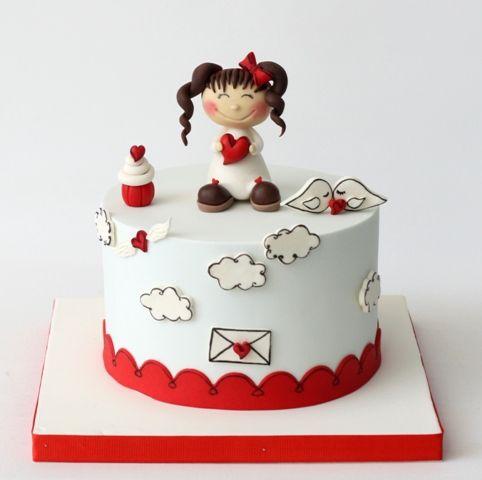 Kekperest, Birthday cake, Cake topper, handmade fondant, seker hamuru, cake art…