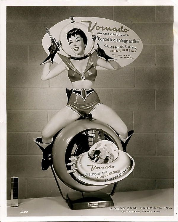 Vornado Air Circulators In-Store Display, ca. 1950s