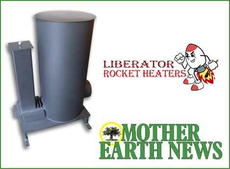 One winner will receive a Rocket Heater valued at $1,800 from Liberator!