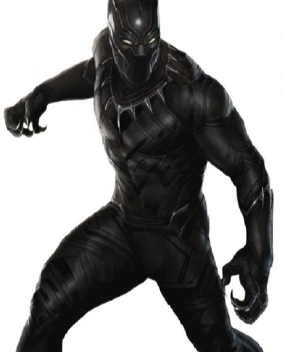 Da Uomo PANTERA NERA Avengers Infinity Wars Capitan America Giacca in Pelle Nera