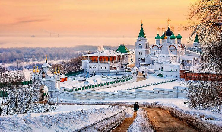 Pskov, Russia | reminds me of Christmas!