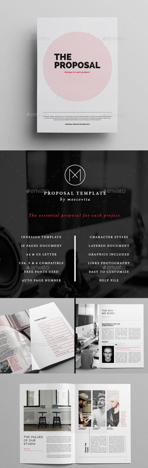 55+ Best Business Proposal Templates In InDesign PSD U0026 MS Word  Best Proposal Templates