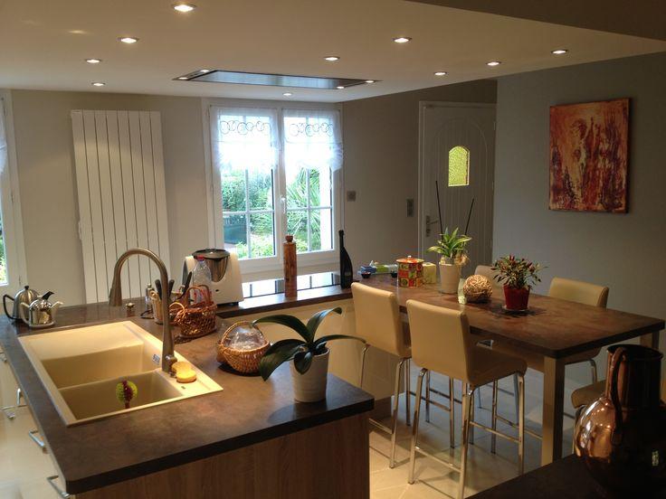 12 best cuisine meuble et am nagement images on pinterest custom kitchens washroom and. Black Bedroom Furniture Sets. Home Design Ideas