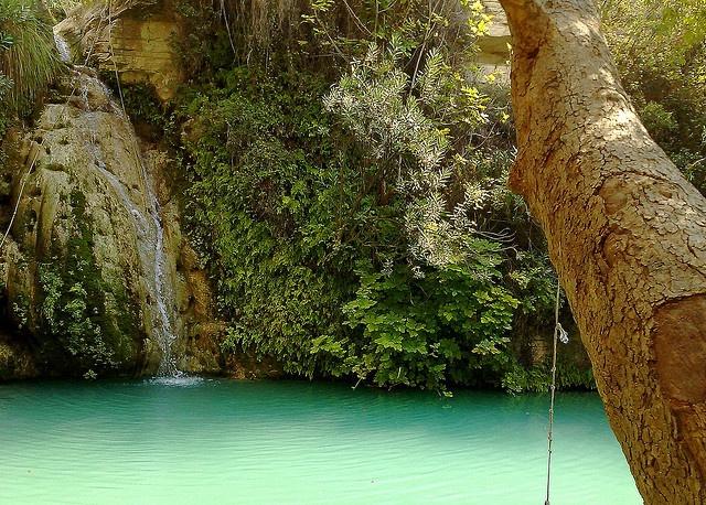 Adonis Baths & Waterfalls in Cyprus by OBHayve, via Flickr