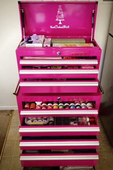 craftsman pink tool box