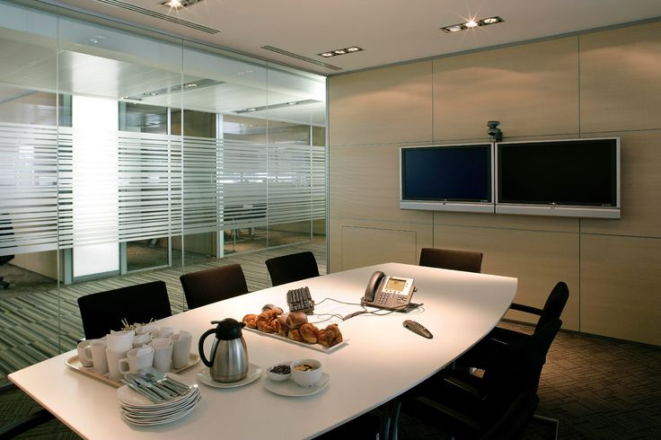 Relaxing feel meeting room office design office design for Conference room design ideas office conference room