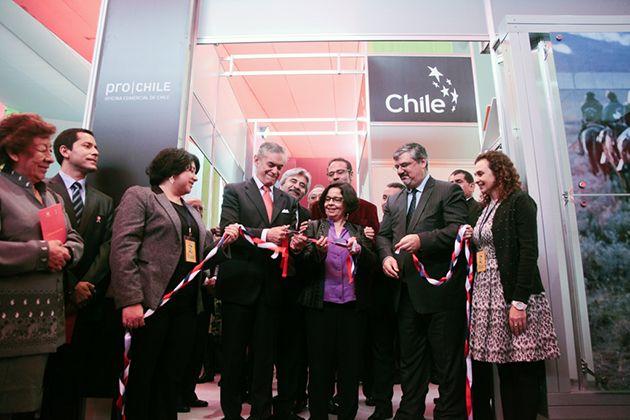 Chile fue el país invitado, Antofagasta la Región destacada.