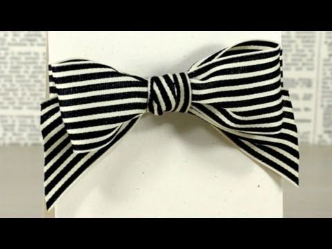 How to tie a knot bow. This came in handy!