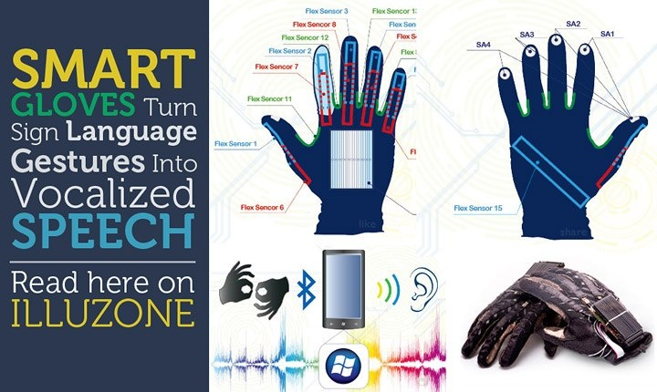 Smart Gloves Turn Sign Language Gestures Into Vocalized