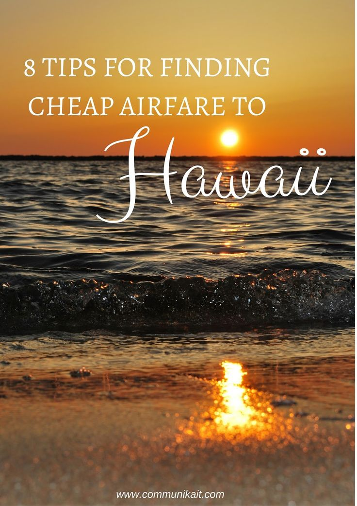 Always wanted to travel to Hawaii, but felt it was out of reach? It's not! Use these tips for finding the cheapest airfare to the islands. Aloha!