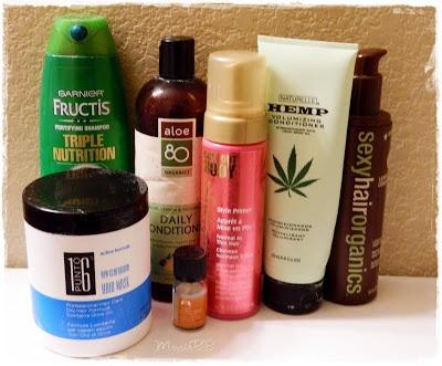 April Empties! Garnier Shampoo, Sexy Hair, Sally Hershberger, Aloe 80 Organics, & More! ~ ♥MoxieBB