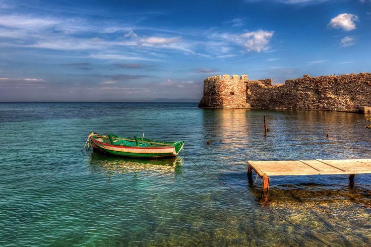 The old castle of Mytilene