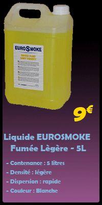 Nouveau chez AlloFiestaLoc ! Découvrez la gamme de liquides à fumée EUROSMOKE ! http://www.allofiestaloc.com/animations/les-machines-a-fumee/les-liquides-a-fumee.html