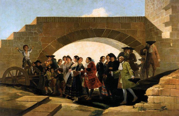 Francisco de Goya ~ De bruiloft ~ 1791-1792 ~ Olieverf op doek ~ 267 x 293 cm. ~ Museo Naçional del Prado, Madrid