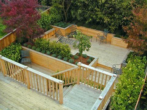 terraced deck decks pinterest photos decks and san francisco