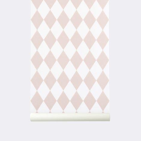 Harlequin Wallpaper - Ferm Living - $126 - domino.com
