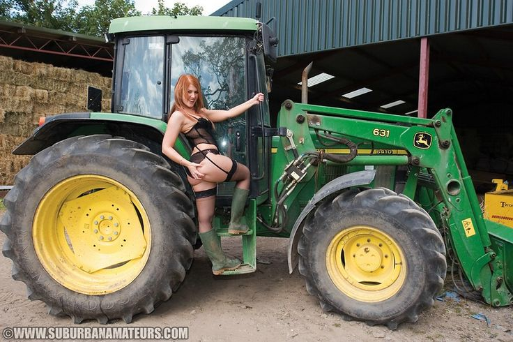 With girl nude deere john