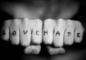 Love Hate Tattoo: The Duality of Purpose