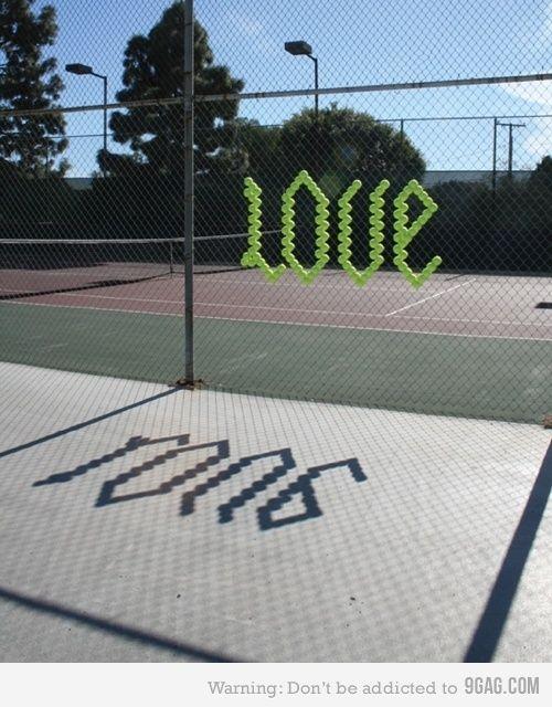 Tennis = Love