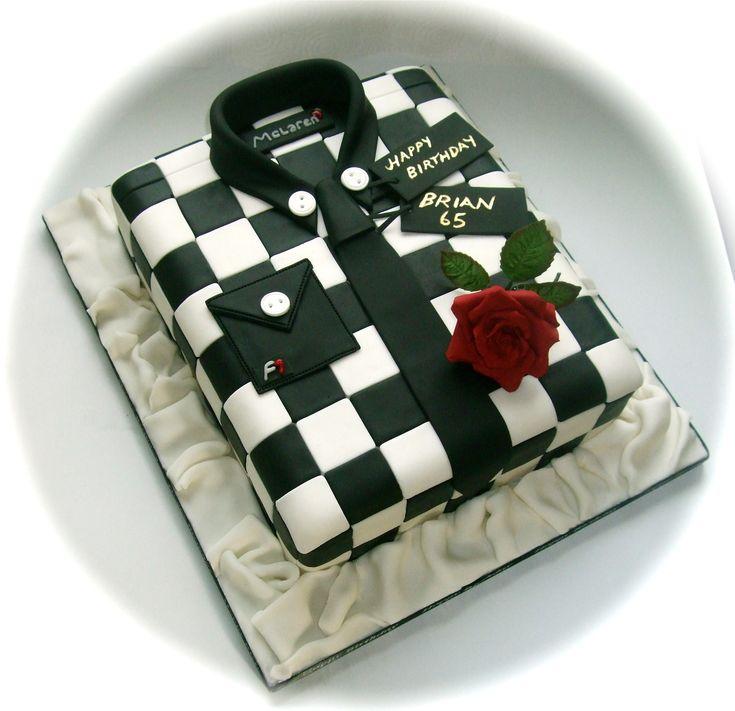 formula 1 shirt cake