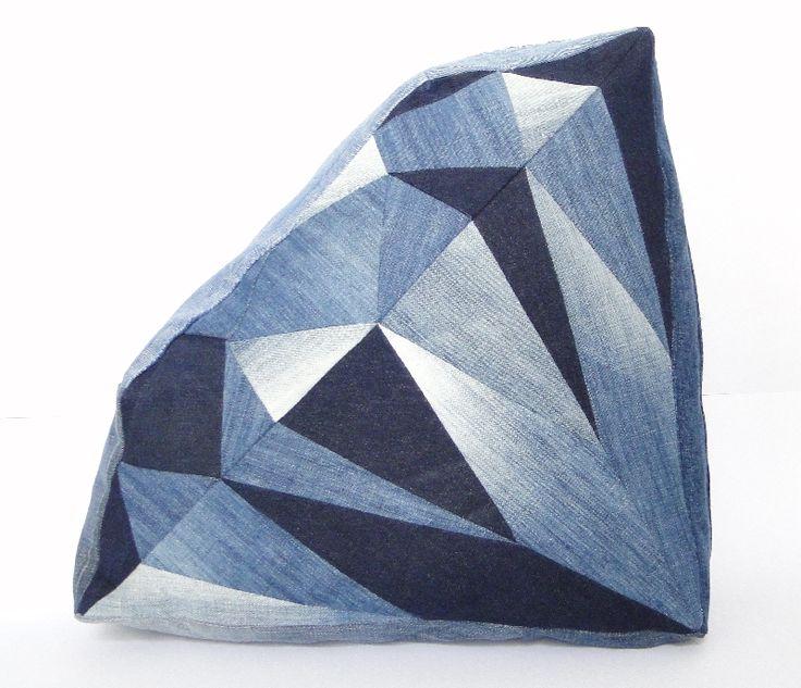 Kussen diamant (L)